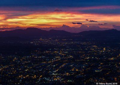 Ciudad desde el Monserate